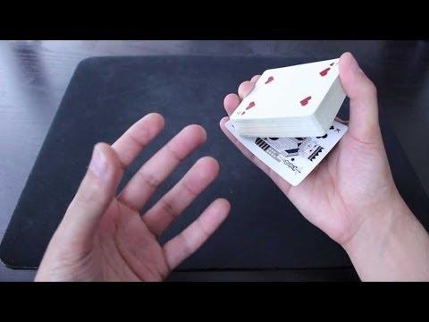 خدع الورق - حركة لسرقة الورقة المختارة
