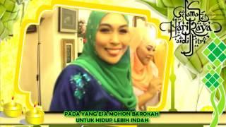 SENYUM LEBARAN 2017 (video lirik)-Azizul, Hazra, Rahman & Nura