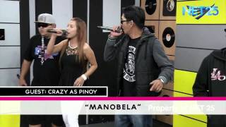 CRAZY AS PINOY NET25 LETTERS AND MUSIC Guesting Part 3