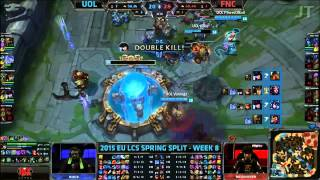 UoL vs Fnatic - Defending the Nexus and Ending - League of Legends