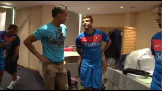 Cristiano Ronaldo with Portugal @ HOTEL [HD] part 1/2
