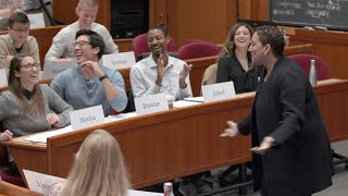 Take a Seat in the Harvard MBA Case Classroom