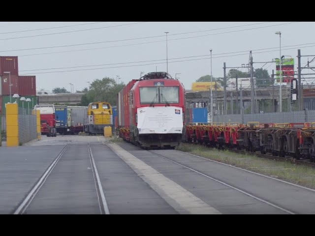 New China train from Nanjing rolls into GVT terminal of Tilburg