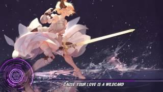 【Nightcore + Lyrics】「Mickey Valen - Wildcard (feat. Feli Ferraro) 」- [AFMC] ~♪