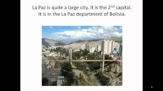 Bolivia - an intro for kids (by a kid)