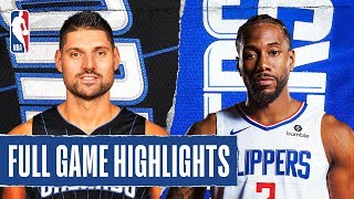 MAGIC at CLIPPERS   FULL GAME HIGHLIGHTS   January 16, 2020