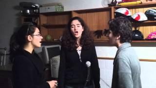 Inês, Diogo e Margarida em Payphone