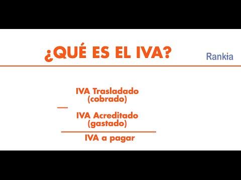 En el siguiente video explicaremos qué es y cómo se calcula el IVA.