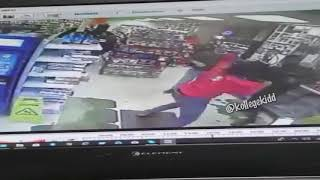 Rico Recklezz and Lil Mister Fight Caught Surveillance FULL