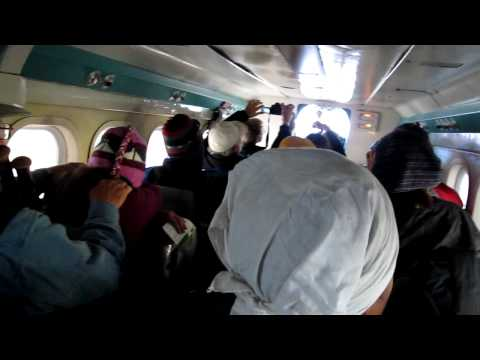 Inside Lukla Take Off