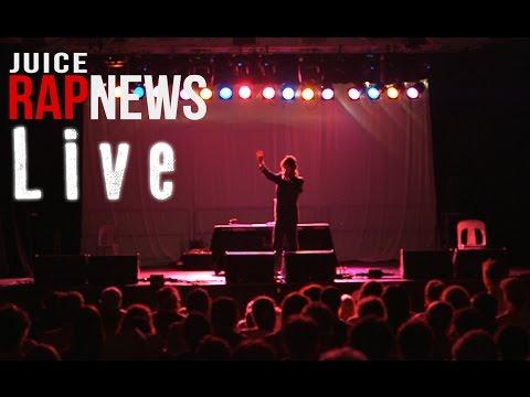 Juice Rap News LIVE! (Woodford 2012-13)