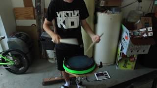 Dubloadz x Virtual Riot - Don't Get Spooked [Drumming Edition]