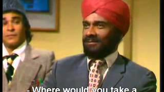 Mind Your Language - Ranjeet Going to a bank