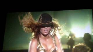 Beyonce I Am Tour 2009 - Upgrade You - London 02 - 15th November (HD)