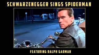 Schwarzenegger sings Spiderman