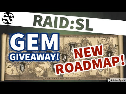 [RAID SHADOW LEGENDS] GEM GIVEAWAY & PLARIUM'S NEW ROADMAP!