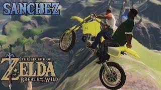 Zelda: Breath of the Wild - Motocross with Big Smoke