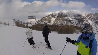ski val d'Allos 2018