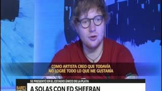A solas con Ed Sheeran – Telefe Noticias