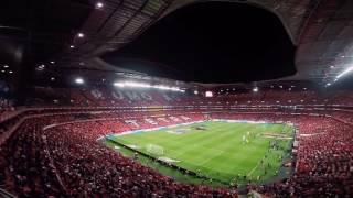 Hino e Coreografia Brutal! Benfica - Porto 2016/2017