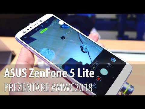 ASUS ZenFone 5 Lite - Prezentare hands-on