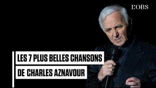 """De """"La Bohème"""" à """"Emmenez-moi"""", les plus belles chansons de Charles Aznavour"""