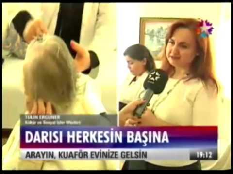 Kadıköy Belediyesi'nden Yaşlı ve Engellilere Kuaför Hizmeti