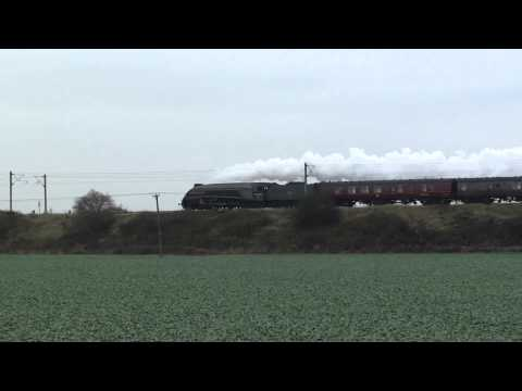 The Tynesider A4 Union of South Africa at Yaxley & Abbots Ripton 24/11/2012