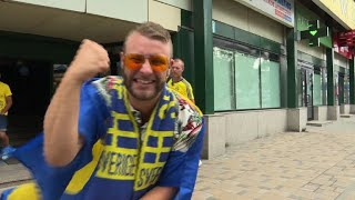 World Cup: Sweden/England fans confident ahead of quarter-final