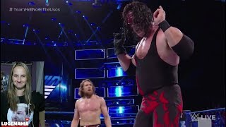 WWE Smackdown 7/3/18 Team Hell No vs Usos