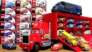 Disney Pixar Cars3 Toy Movie Big Mack Truck Gale Beaufort Battle Crash Cars Tomica for kids
