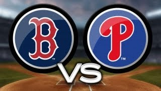 5/29/13: Phillies rip four homers to edge Red Sox