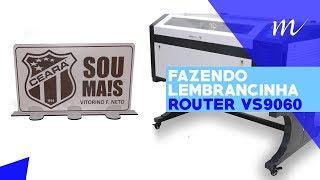 Multivisi | Router VS9060 |  Faça Lembrancinha em MDF