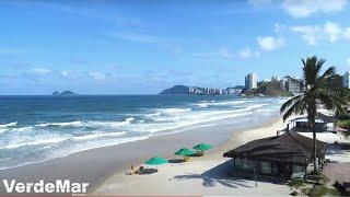 Praia da Enseada em Guarujá litoral de São Paulo | Verde Mar Imóveis