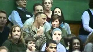 Stunning Video - Airman Returns Home From Afghanistan, Surprises Daughter At Game