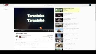Trolling A 12 Year Old- The tarantula song