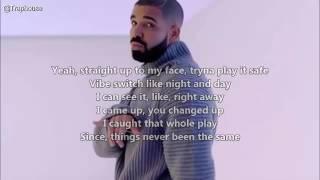Drake Fake Love Lyrics Video ft