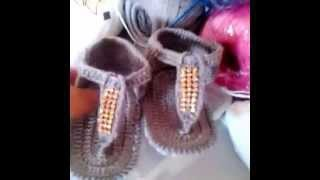 Sandalinha de dedo Pimentinha Crochê