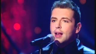 Mark Feehily from Westlife (up-close) singing Home (Strictly Come Dancing)