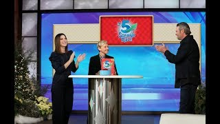 Sandra Bullock & Blake Shelton Play '5 Second Rule'