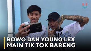 Bowo dan Young Lex Main Tik Tok Bareng