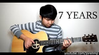 Lukas Graham - 7 Years (Fingerstyle cover by Jorell) INSTRUMENTAL | KARAOKE