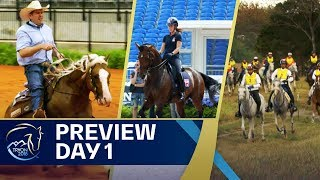 Dressage, Endurance & Reining on Day 1 - Preview | FEI World Equestrian Games