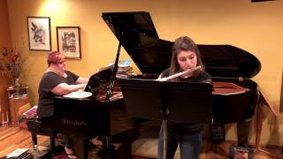 Sonata for Flute and Piano, Movement 4 (Muczynski) - Marah Christenson, flute
