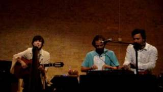 Tres em Oxford - Adriana Calcanhoto, Moreno Veloso e Domenico Lancellotti