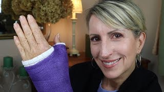 GOT THE CAST ON - 11 DAYS AFTER BASAL JOINT ARTHRITIS SURGERY