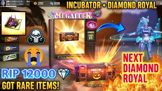 RIP 12,000 Diamonds In Luck Royal 😭 Unlocking NEXT Diamond Royal , Incubator & WEAPON ROYAL 🔥
