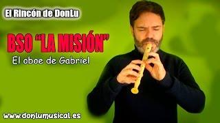 """El oboe de Gabriel para flauta dulce BSO de """"La misión"""""""