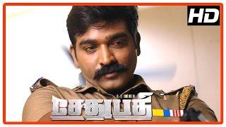 Sethupathi Tamil Movie | Scenes | Vijay Sethupathi scenes | Remya Nambeesan | Vela Ramamoorthy width=
