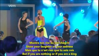Learn French with Songs - Kate Ryan Elle Ella - Dual Lyrics